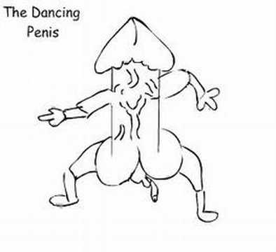 dancing dick cartoon