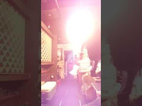 Grand Manhattan Cafe On Fire