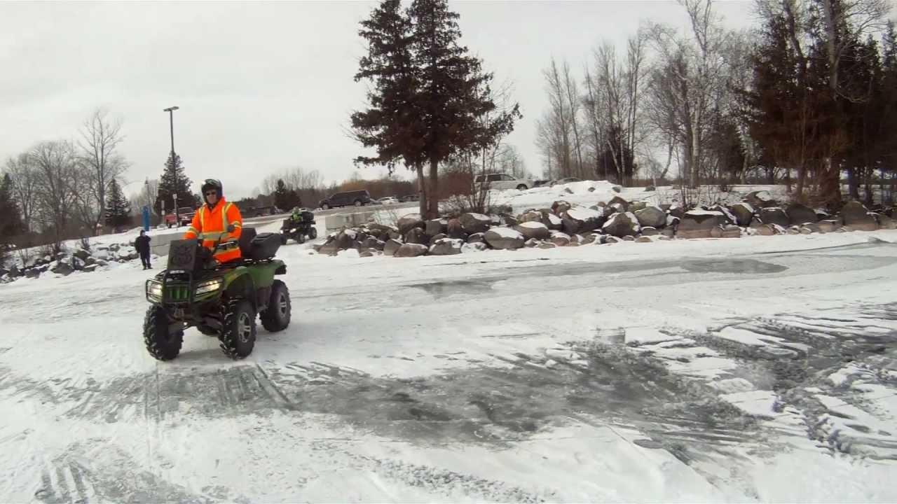 Lake simcoe ice fishing sunday feb 3 2013 youtube for Lake simcoe fishing report