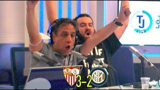 ¡QUÉ LOCURA! Así se vivió el Sevilla 3-2 Inter de Milán de la final de la Europa League