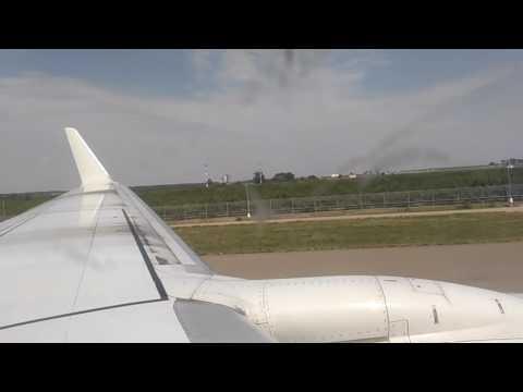 Boeing 737-800 UTAir (VQ-BJF) Взлёт из Краснодара, рейс 602 Краснодар - Сургут. Вместе с ЮН!