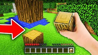 Realistyczny Minecraft - TESTUJEMY MOJĄ DŁOŃ! #1