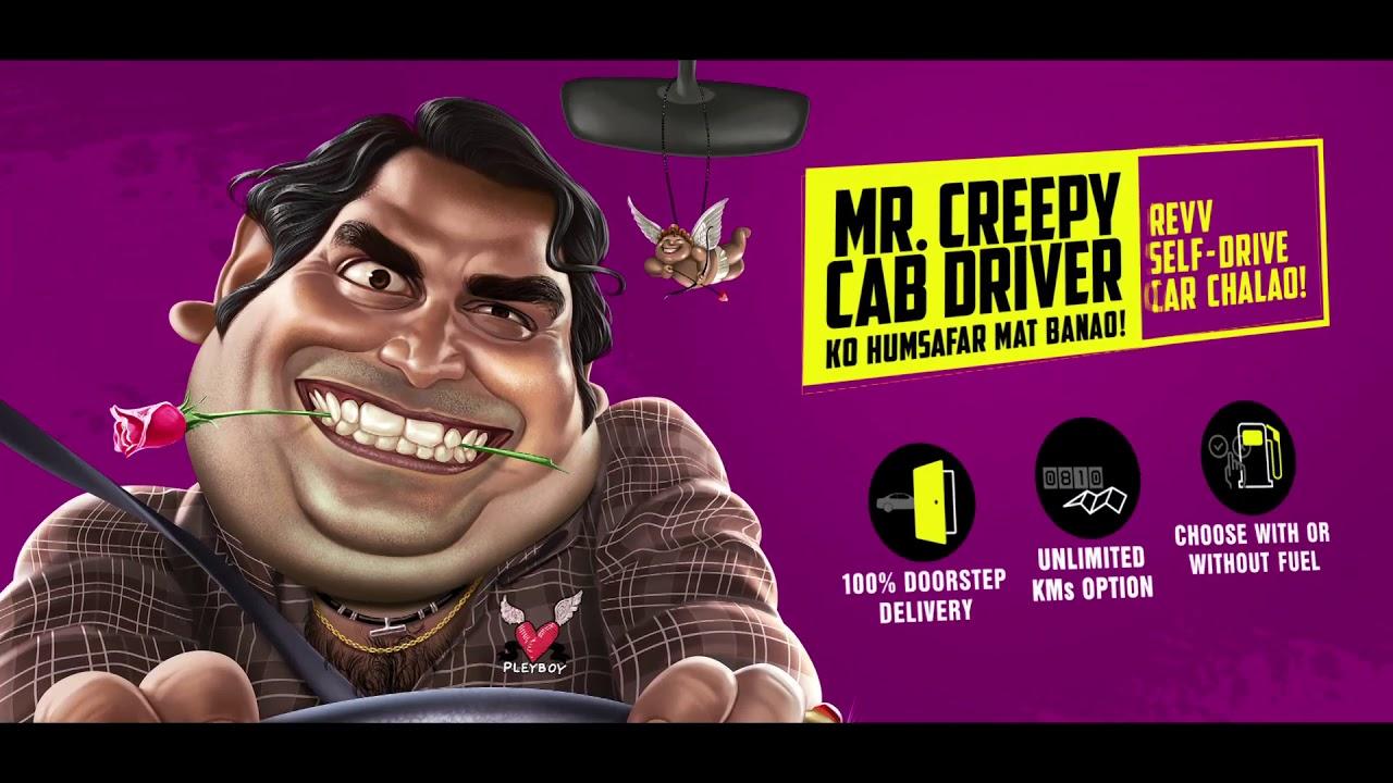 Don't Suffer in Safar   Creepy Cab Driver   #Revv self drive cars!