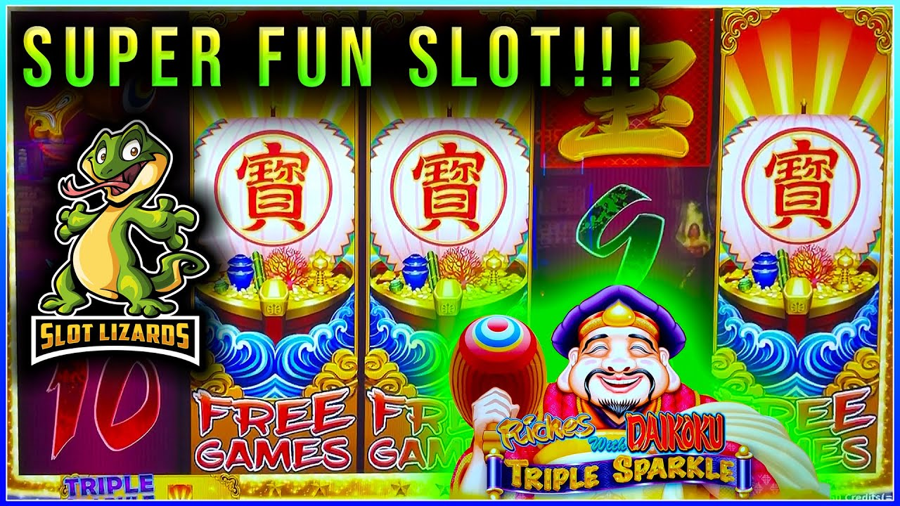 Download FREE PLAY SESSION!  Riches with Daikoku Triple Sparkle FREE GAMES!