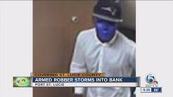 Armed bank robber in Port St. Lucie