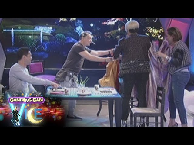 GGV: Vice Ganda's surprise date for Zanjoe Marudo