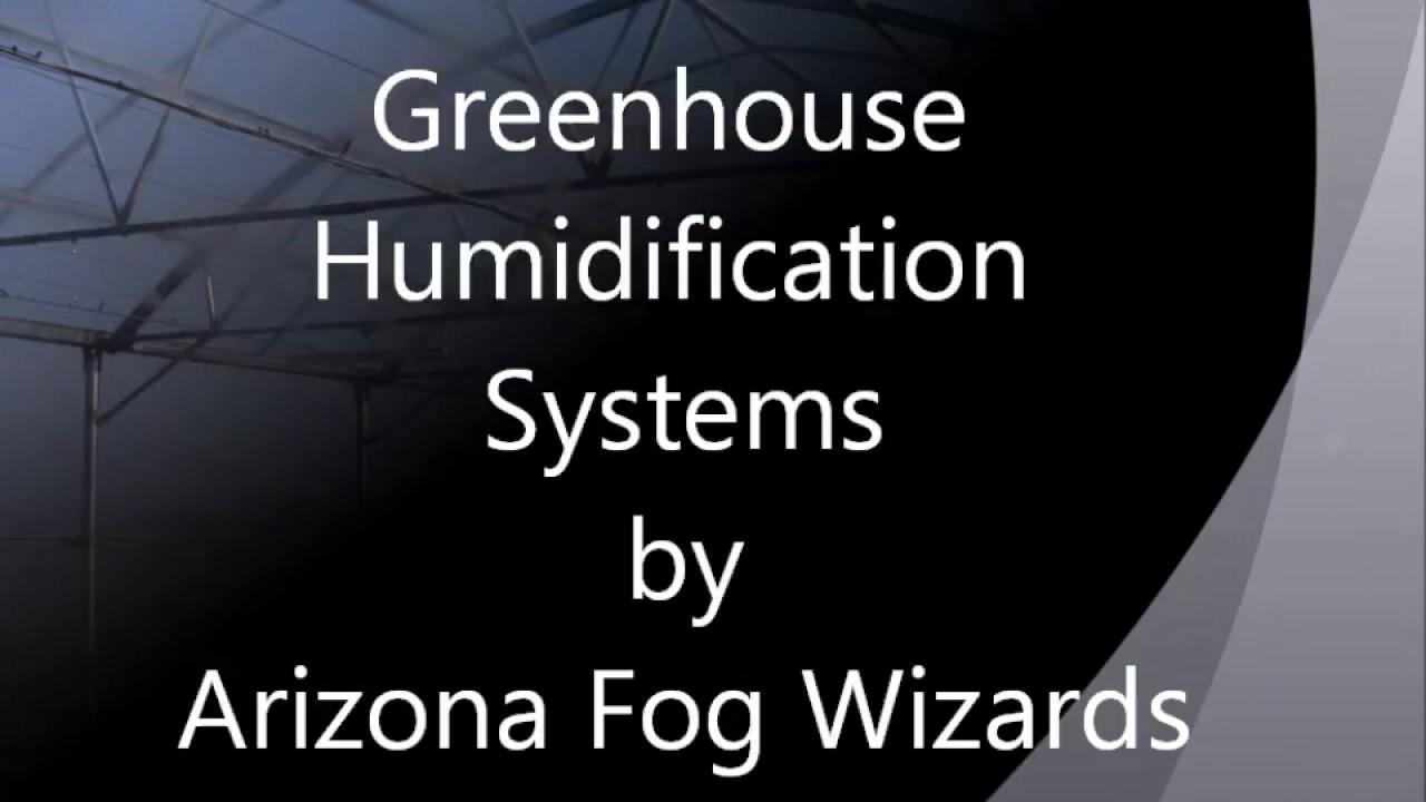 Greenhouse Misting System   Foggers   Arizona Fog Wizards