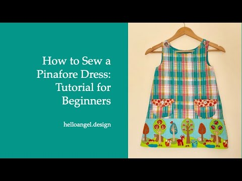 Diy: Pinafore Dress With Frontpocket