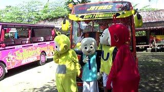 TEMPAT WISATA BANYAK BUS TAYO UPIN IPIN TELETUBBIES LALA PO SENANG ODONG-ODONG TAYO THE LITTLE BUS