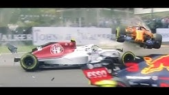 Why the Halo was introduced to F1 - Spa Crash 2018