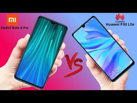 Xiaomi Redmi Note 8 Pro VS Huawei P30 Lite - Which Is Better!!