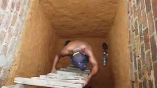 穴に落ちた子猫ちゃんを救出しようとする男性、が、まさかのハプニング