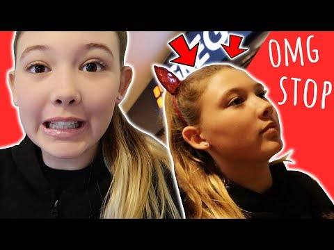EMBARRASSING MY 13 YEAR OLD DAUGHTER SO BAD IN A SHOPPING MALL!