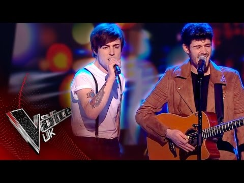 Into The Ark perform 'Hold On We're Going Home': The Knockouts | The Voice UK 2017