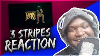 (Zone 2) KwengFace - 3 Stripes (Prod By Yoni) | Link Up TV (REACTION)