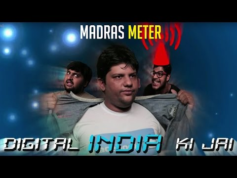 Digital India Ki Jai | Facebook Chronicles | Short Film |Comedy | Madras Meter