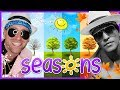 ☀️ Learn Seasons for Kids | Bruno Mars - Uptown Funk (Cover) | Mooseclumps | Kids Learning Songs