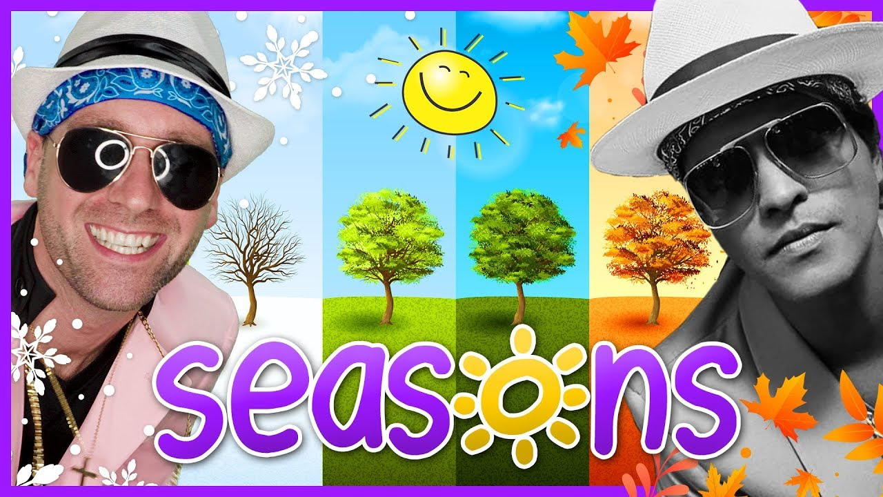 Download ☀️ Learn Seasons for Kids   Bruno Mars - Uptown Funk (Cover)   Mooseclumps   Kids Learning Songs