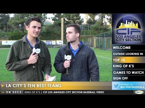 Week 1 LA City Baseball Video