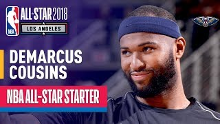 DeMarcus Cousins 2018 All-Star Starter   Best Highlights 2017-2018