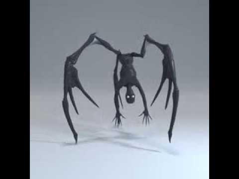 Arachnid animation test