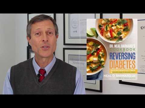 Dr. Neal Barnard Debuts New Diabetes Books