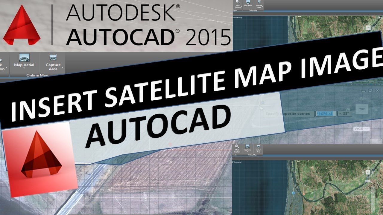 How to Insert Satellite Map Image Geolocation Online Aerial – Satellite Map Online