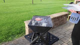 Fire Sense HotSpot Notębook Portable Charcoal Grill Review