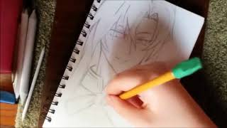 Sharon Draws: Lord Ferid Bathory from Seraph of the End: Drawing #18