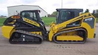GEHL RT 210 vs New Holland C232