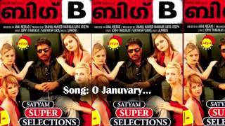 O January | Big B | Sayanora | Alphons | Jophi Tharakan