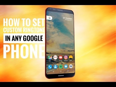 How to set favorite ringtone in any google phone like pixel and nexus