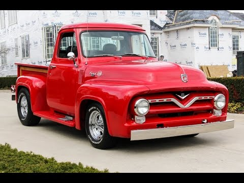 1953 FORD Truck Bed F100  F-100 Pickup Truck Bed COMPLETE TRUCK BED