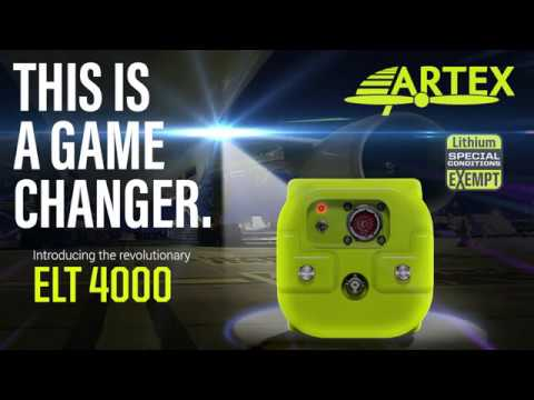 ARTEX ELT 4000 | World's 1st & Only Non Lithium ELT