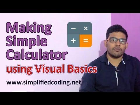 Creating a Simple Calculator in Visual Studio 2017 using Visual Basic