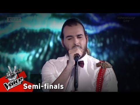 Στέλιος Ψαρογιάννης - Soldier of fortune | 2ος ημιτελικός | The Voice of Greece