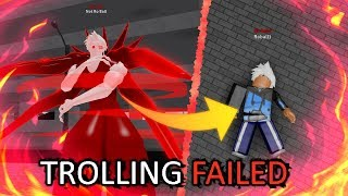 I tried to Troll with EtoK1 in Ro-Ghoul and Completely Failed...