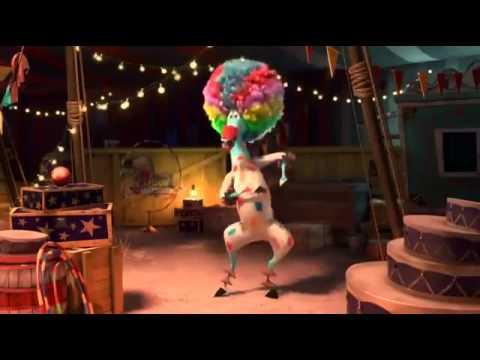 Madagascar 3 Afro Cirkus Cz version