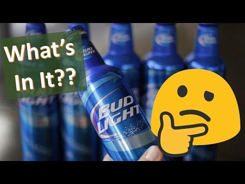 What's in a Bud Light? Beer Label Requirements