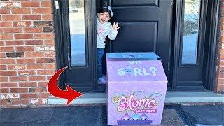 Sally gets surprise Blume Baby Pop Dolls for Valentine's Day!