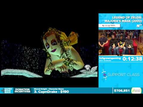 Majora's Mask By Various Runners In 5:28:12 - Awesome Games Done Quick 2016 - Part 142