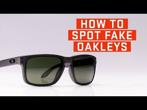 How To Spot Fake Oakleys