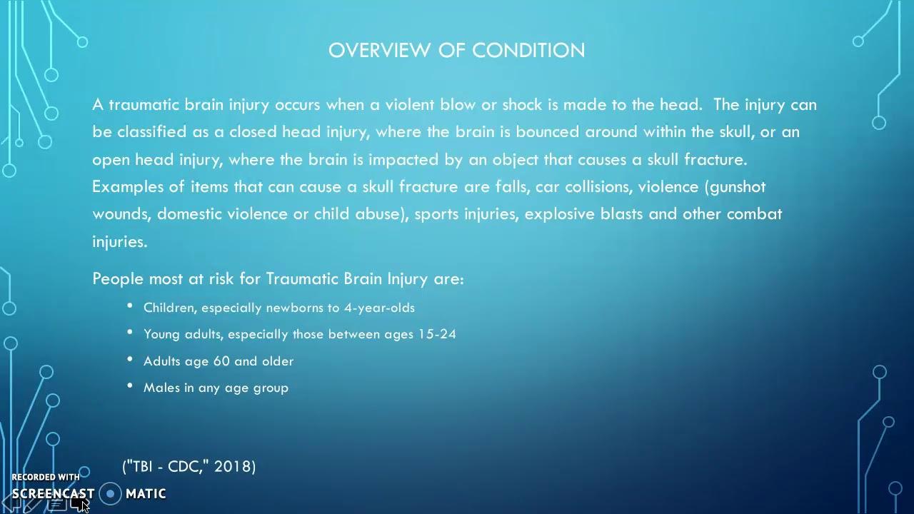Traumatic Brain Injury PPT