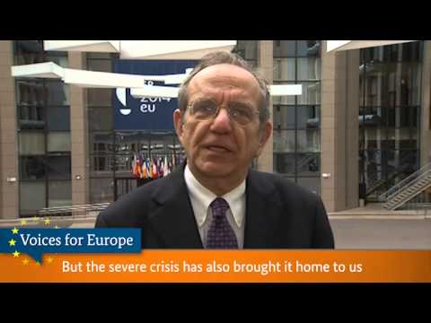 Voices for Europe: Pier Carlo Padoan, Minister of Economy and Finance, Italy