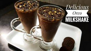 Oreo Milkshake recipe/ Make Oreo Milkshake in 2 minutes/ Desert/ Oreo Milkshake without Icecream