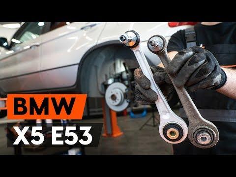 Как заменить задний рычаг подвески BMW X5 (E53) [ВИДЕОУРОК AUTODOC]