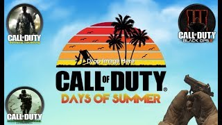 Call Of Duty: Days Of Summer Event News RoundUp + MWR Standalone Release! NEW Beach Bog Gameplay