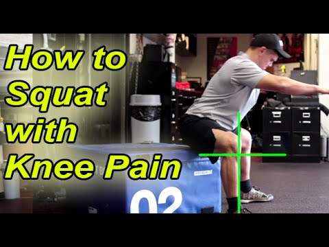 The Best Knee Strength Exercise - How to Box Squat