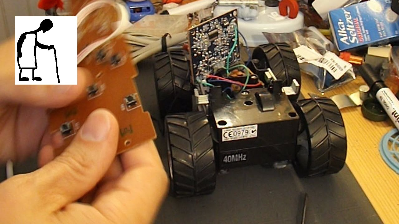 wired remote control to replace rc receiver