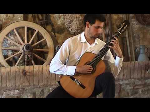 the Volterra Project 2017: André Ferreira plays Sarabande, BWV 1012